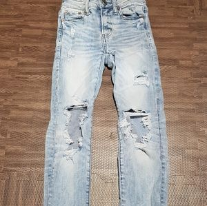 American Eagle jeans .